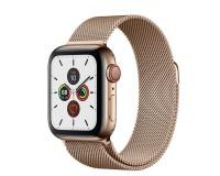 Часы Apple Watch S5 44 mm Сталь золотой браслет