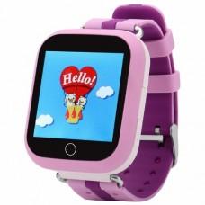 GPS трекер, часы, мобильный телефон детский TD-10 (розовый)