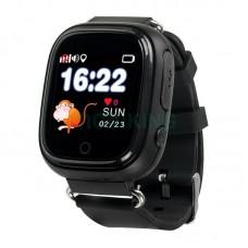 GPS трекер, часы, мобильный телефон детский TD-02 (черные)