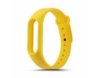 Ремешок к фитнес-браслету Xiaomi Mi Band 3 силиконовый (желтый)