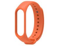 Ремешок к фитнес-браслету Xiaomi Mi Band 3 силиконовый (оранжевый)