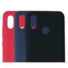 Накладка задняя  Xiaomi Mi 8 силиконовая цветная (Silicone Cover)