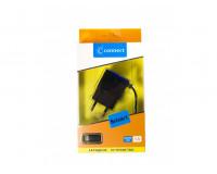 СЗУ micro USB 1А (коробка)(Connect) черный