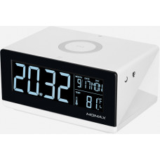 Беспроводное з/у с часами Momax Q.Clock QC1