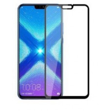 Защитное стекло Huawei Honor 8X (5D) черная рамка (техпакет)(ударопрочное)