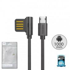 USB кабель Micro USB 2.1A (Remax) RC-075m 1м (европакет)