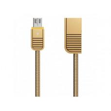 USB Дата-кабель Micro USB металлический (Remax) RC-088m (коробка)