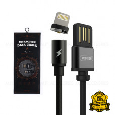 USB Lightning Cable iPhone5/6/7 1M 1A магнитный ( WK Attraction) WDC-046i (коробка)