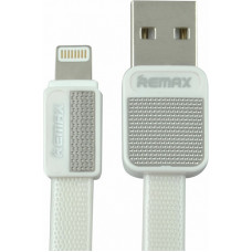 USB Lightning Cable iPhone5/6/7 плоский (Remax) Metal RС-044i (коробка)