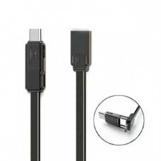 USB Lightning Cable iPhone5/6/7/Micro USB/Type-C 3в1 (Remax) RC-070th 1,0 м (коробка)