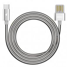 USB Дата-кабель Type-C в оплетке 1м (RC-080a)(Remax)