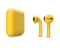 Гарнитура AirPods беспроводная (Желтый матовый)