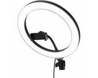 LED-кольцо для селфи с держателем с USB пультом (M-25)