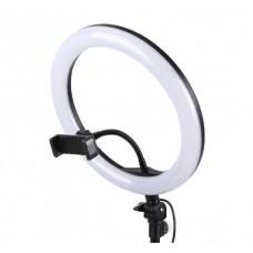 LED-кольцо для селфи с держателем с USB пультом и зеркалом (M-26)