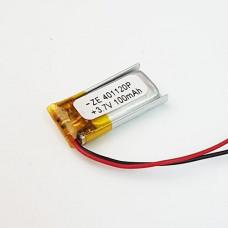 Аккумулятор маленький (401120)(100mAh 3.7v)