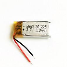 Аккумулятор маленький (501225)(100mAh 3.7v)