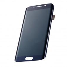 Дисплей Samsung G925/Galaxy S6 Edge с тачскрином оригинал (темно-синий)