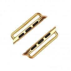 Комплект крепежей ремешков для Apple Watch 42 мм золотой с отверткой