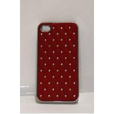iPhone 4 защитная крышка ромб стразы