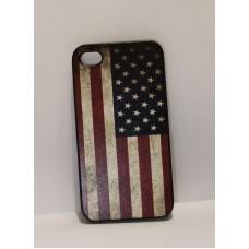 iPhone 4 накладка пластик Флаги