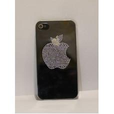iPhone 4 накладка стразы прозрачная