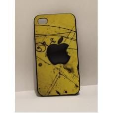 iPhone 4 накладка пластик Креативное Яблоко