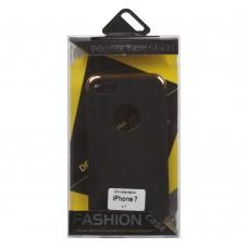 iPhone 7 Защитная крышка с золотой вставкой (Fashion Case)