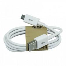 USB Дата-кабель Micro USB 1 метр (техпакет)