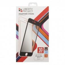 iPhone 6/6S защитное стекло 3D черное