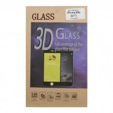 iPhone 6/6S защитное стекло 3D розовое