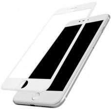 iPhone 7 Plus/8 Plus 3D Защитное стекло  белое