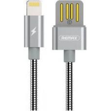 USB Lightining Cable iPhone5/6/7/iPad Mini 2,1A металлический (Remax) RC-080i (коробка)