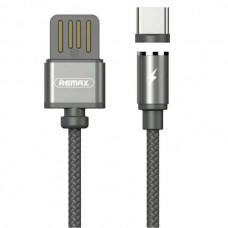USB кабель Type-C 1,5A в оплетке (Remax) RC-095a