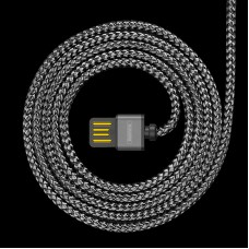 USB Lightning Cable iPhone5/6/7 1A в оплетке (Remax) RC-095i (коробка)
