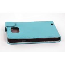 Samsung i9100 Galaxy S2 Чехол раскладной кожа(тех/пакет)