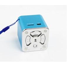 Колонки портативные M-1(3,5 мм+USB+microSD+FMрадио) синий