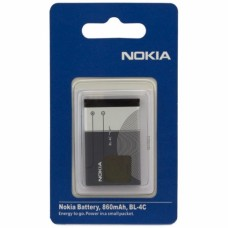 АКБ Nokia BL-4C (7270/6300/6260/6170/6131/6125 )