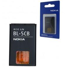 АКБ Nokia BL-5CB ( C1-01/C1-02/1616/18/00)