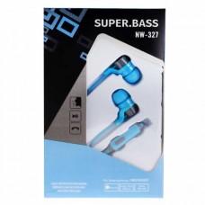 Гарнитура (Super Bass) NW-327 3,5 мм