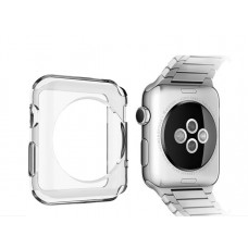 Накладка для Apple Watch 42 mm прозрачная Melkco