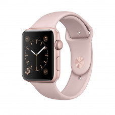 Apple Watch 38mm S3 Sport Розовое золото спорт ремешок
