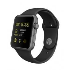 Часы Apple Watch S3 42 mm серый космос алюминий т/серый спорт.ремешок (GPS)