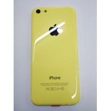 Корпус iPhone 5C (Yellow) с держателем сим-карты, заглушками