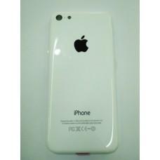 Корпус iPhone 5C (White) с держателем сим-карты, заглушками