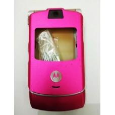 Корпус оригинал Motorola V3 розовый